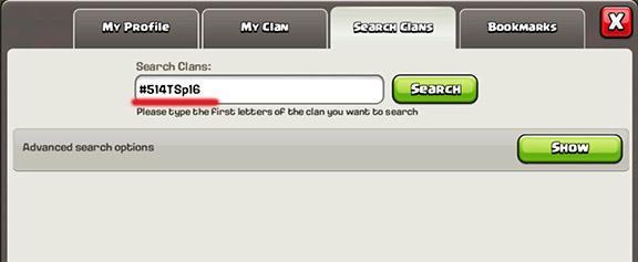 search clash,پیدا کردن کلن
