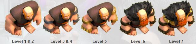 giant,جاینت, آموزش بازی کلش اف کلنز,آموزش غول