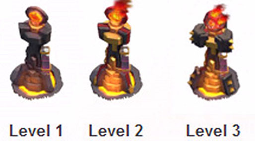 infernotower-coc,آموزش برج جهنمی,اینفرنو