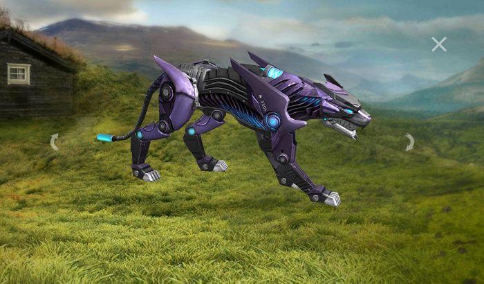 Night Panther حیوانات بازی فری فایر نایت کراولر